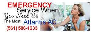 Emergency 24 hour Service when you need us the most we will be there with girl in front of fan