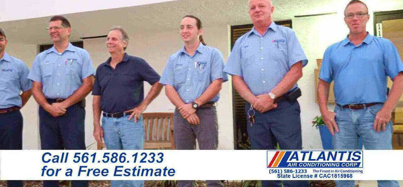 Heating Contractor Services Van for Lantana FL