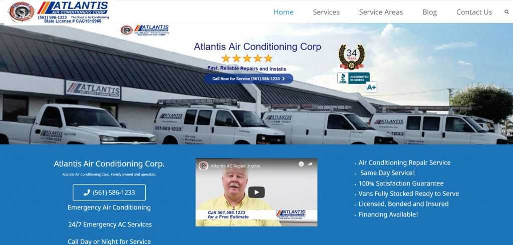 Atlantis Air Conditioning Corp.
