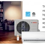 Bosch mini split Ductless AC Installation