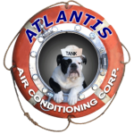 HEATING CONTRACTOR meet Tank AIR CONDITIONING REPAIR SERVICE mascot