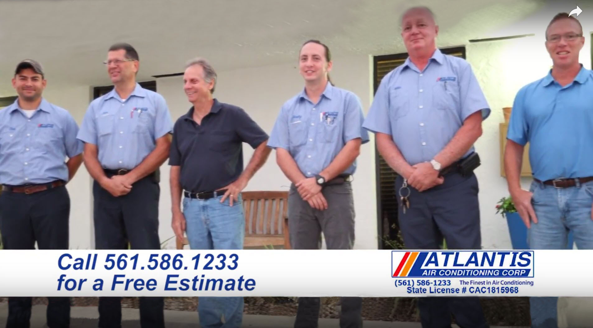 West Palm Beach Air Conditioning Heating and cooling service team