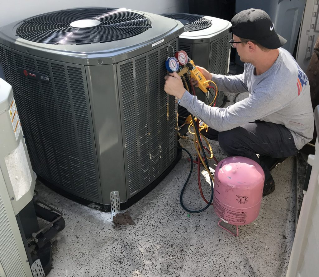 Commercial Heating contractor AC Maintenance