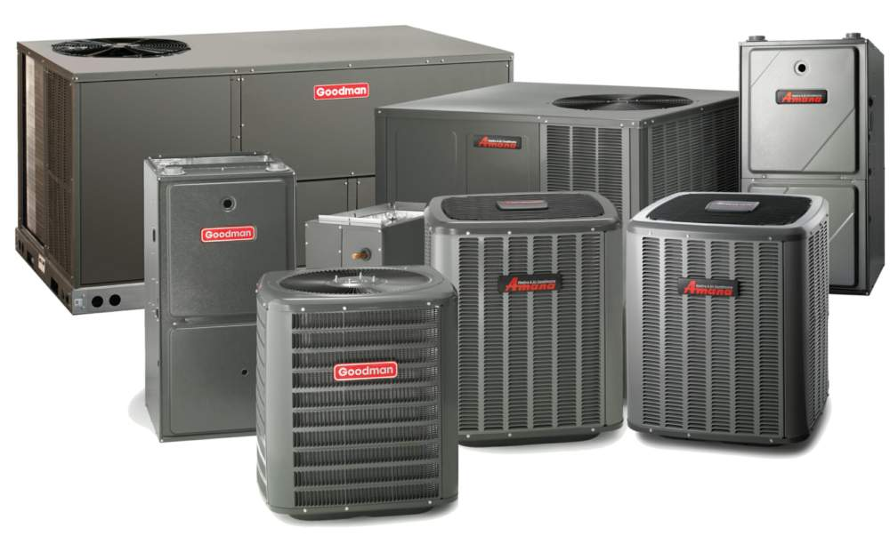 Amana and goodman AC systems